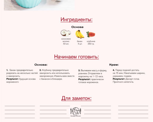 Morozhenoe S Klubnikoy