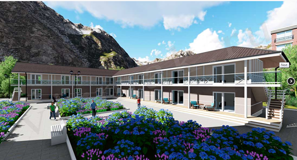 проект гостиницы 2